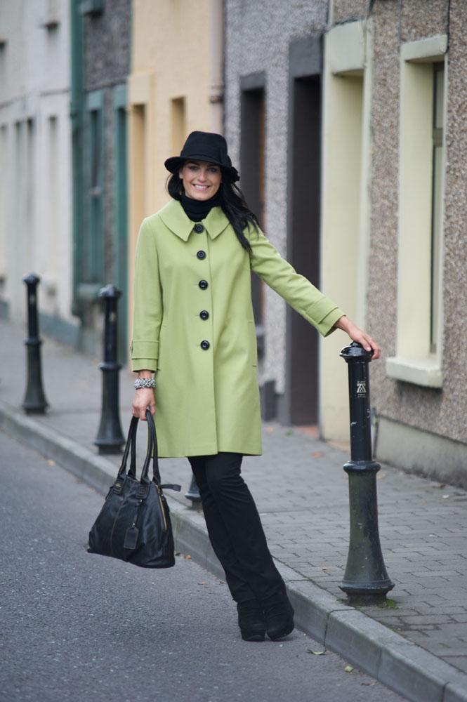 Blarney Woollen Mills Model : Eleanor Fitzgerald Photographer : Joleen Cronin