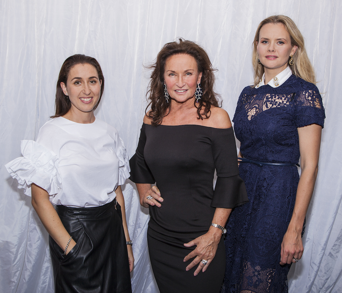 It's a family Affair as the business is run by a family united in their passion for fashion. Pictured Cecile Lee Coveney, Celia's daughter, Celia Holman Lee and Asta Cibulskyte Lee, Celia's daughter-in-law. Picture: Dolf Patijn/ilovelimerick.