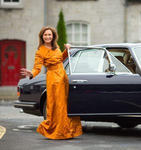Maureen O'Hara comes to Foynes.