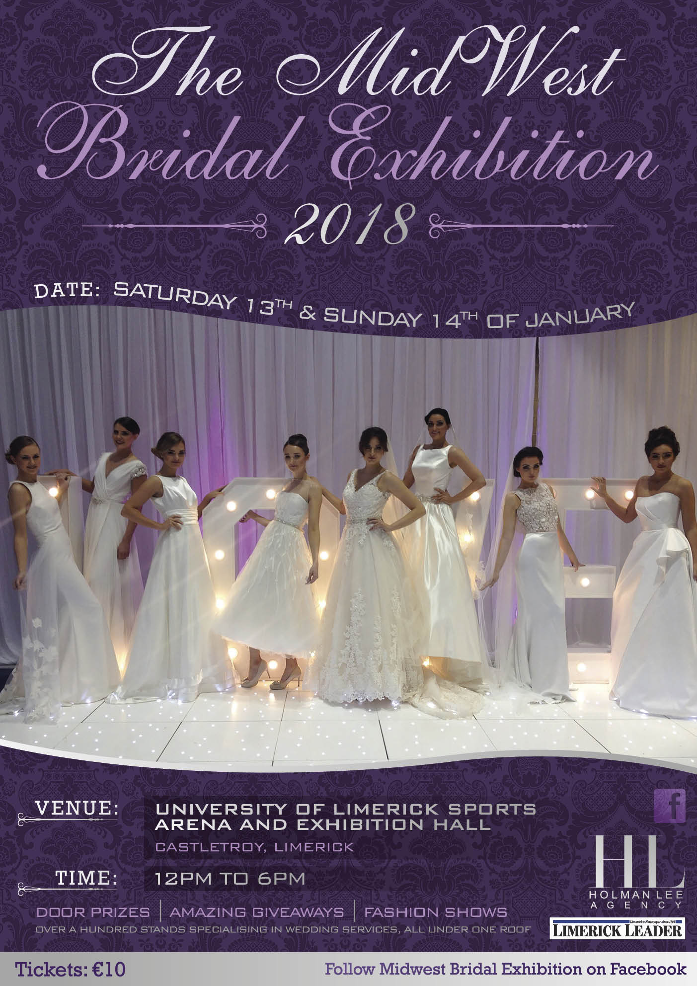 The MidWest Bridal Exhibition 2018 - The Holman Lee Agency